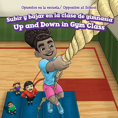 Subir y bajar en la clase de gimnasia : = Up and down in gym class